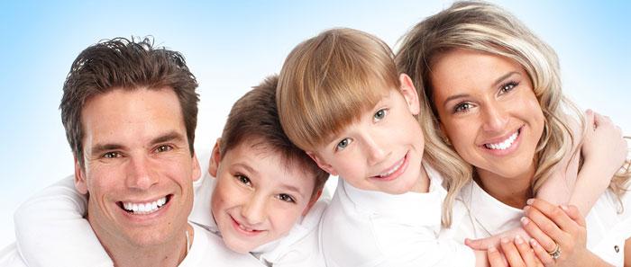 familie glücklich