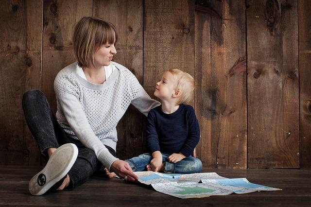 Eltern Zeit mit Kindern
